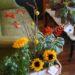 box-garden-sunflowers-herbs-with-crocasmia-and-craspedia-7500