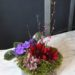 tin-garden-african-violet-pink-splash-with-flowering-branch-and-dahlia-5500